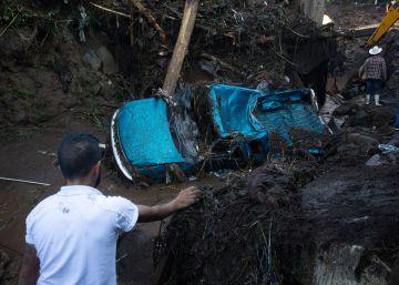 Las intensas lluvias en Michoacán dejan al menos siete muertos y cuatro desaparecidos