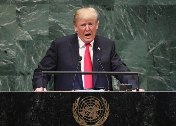 Trump recrudece en la ONU su ofensiva contra Irán y la globalización