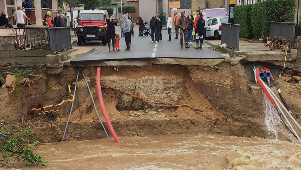 Resultado de imagen para Al menos 13 muertos por inundaciones francia