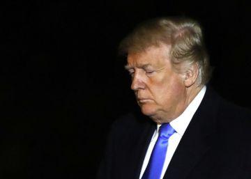 """Trump llama """"demócrata"""" a su ministro de Defensa y dice que """"puede que se vaya"""""""