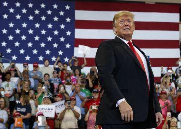 Trump se zambulle en la campaña electoral