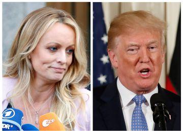 El juez rechaza parte de la demanda de Stormy Daniels contra Donald Trump y la obliga a pagar los costes