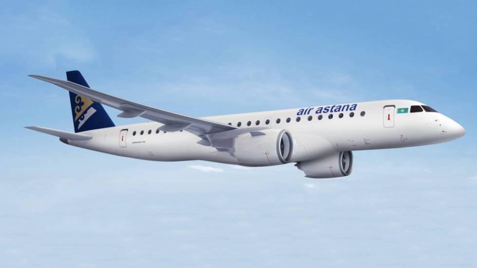 """dc75860f80 El aeropuerto de Lisboa al avión de Air Astana  """"¿Quiere aterrizar en el  mar o en el río """""""