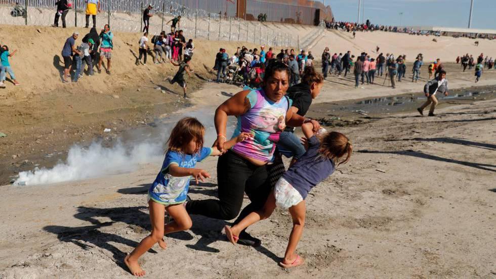 Resultado de imagen para eeuu represion a migrantes