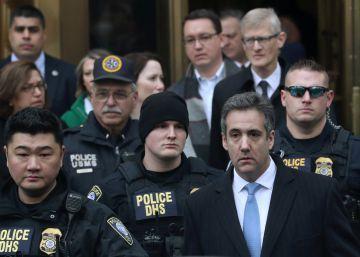Tres años de cárcel para Cohen por pagar para silenciar adulterios de Trump