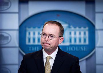 Trump nombra jefe de gabinete interino al director de presupuesto