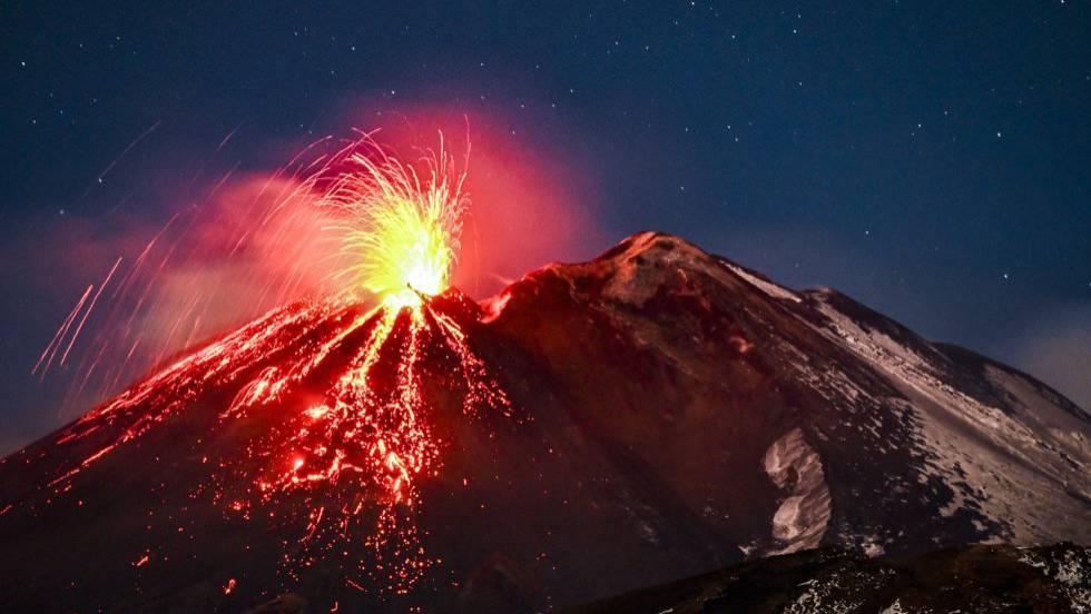 El volcán Etna entra en erupción | Internacional | EL PAÍS