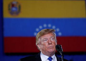 Trump advierte a los militares de que lo perderán todo si siguen con Maduro