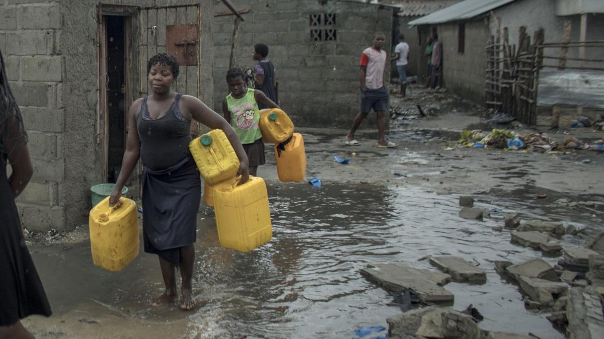 """""""Não há água potável, eletricidade, escolas nem saúde; é uma autêntica catástrofe"""""""
