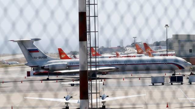 Dois aviões russos chegam à Venezuela com uma centena de militares