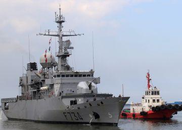 China intercepta un buque francés que navegaba por el estrecho de Taiwán
