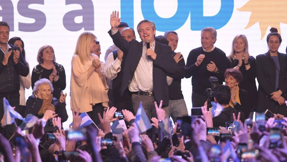 Resultado de imagen para Victoria abrumadora del peronismo en las primarias argentinas