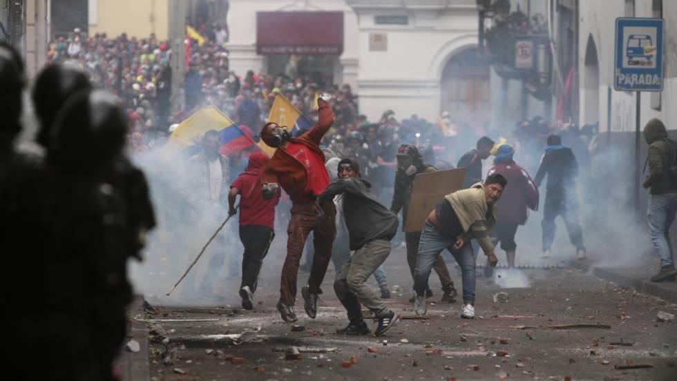 Resultado de imagen para ecuador protestas