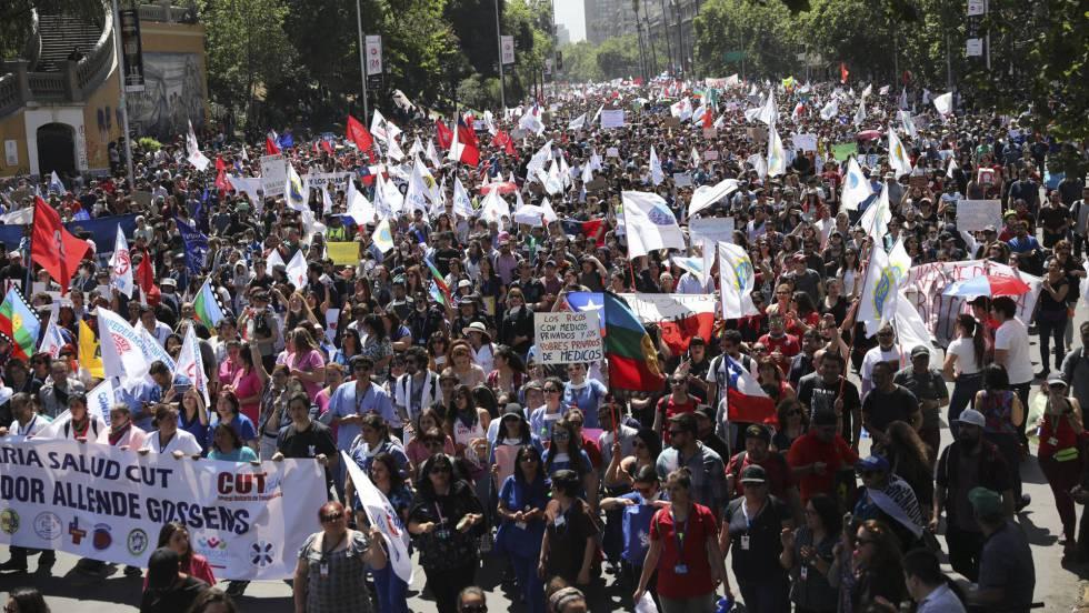 Resultado de imagen para protestas en chile