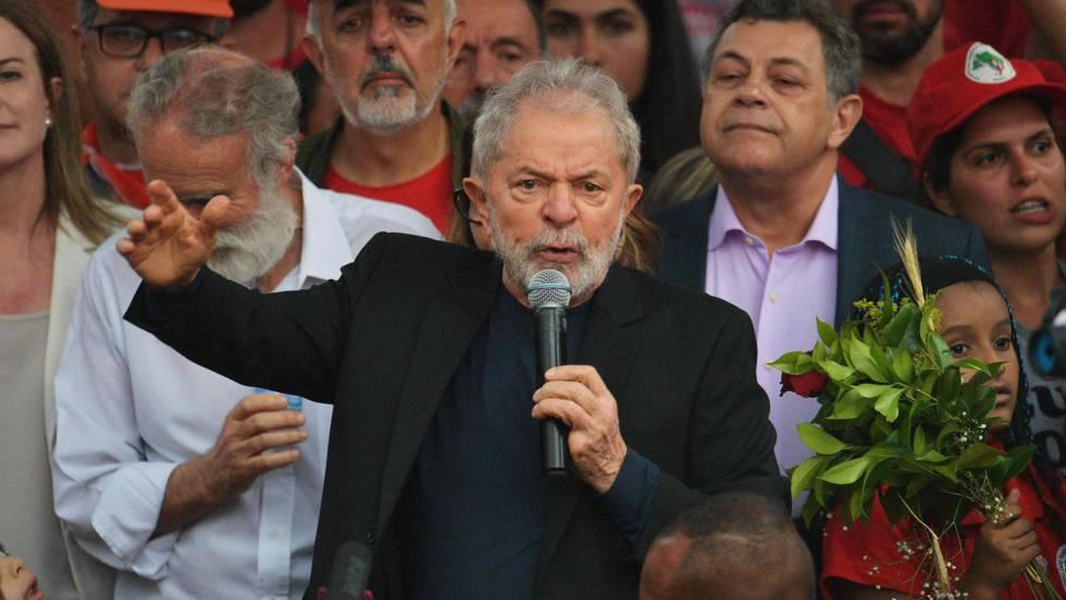 La liberación de Lula enciende la esperanza de reanimar a una oposición  endeble   Internacional   EL PAÍS