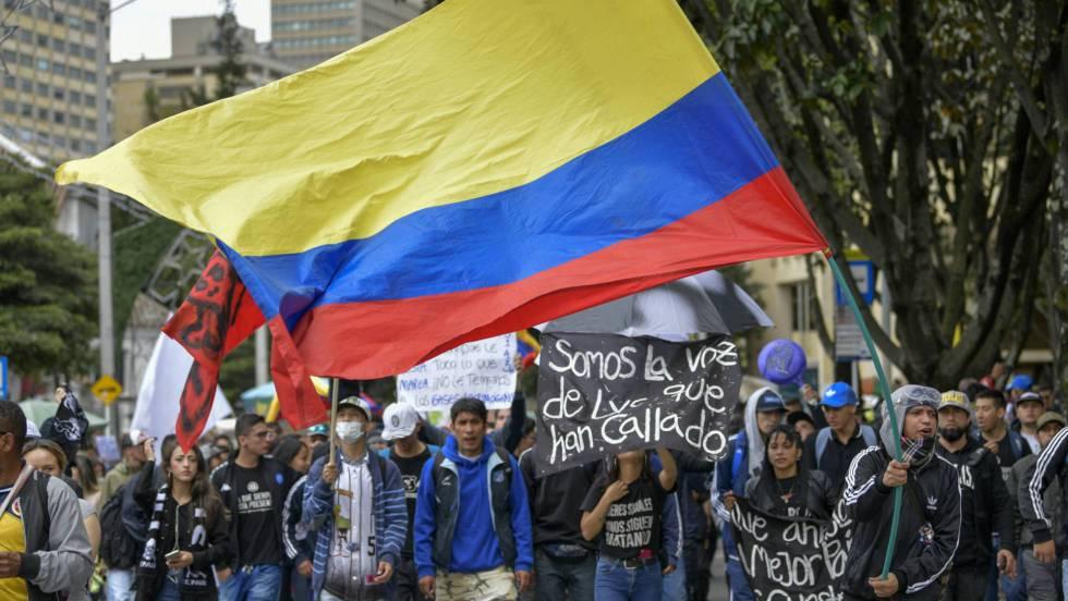 Las protestas en Colombia buscan redoblar la presión al Gobierno | Colombia  | EL PAÍS