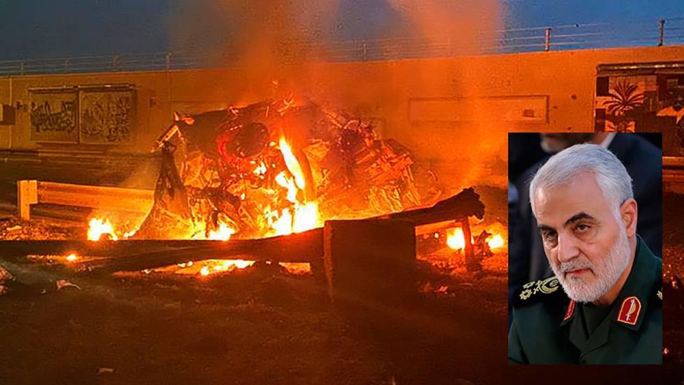 EE UU mata al poderoso general iraní Soleimani en un ataque con drones en el aeropuerto de Bagdad | Internacional | EL PAÍS