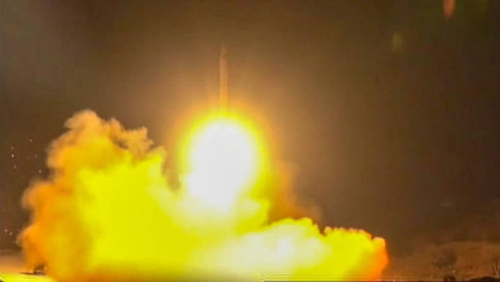 Irán responde a Estados Unidos con un ataque con misiles a