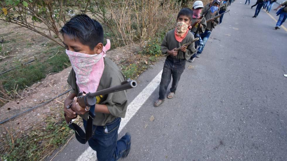 Resultado de imagen para Los niños soldado de Guerrero: