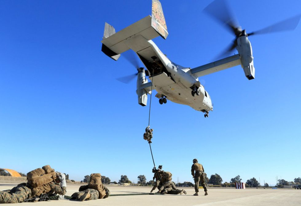 morn us airbase will 2200 more us marines prove morns salvation in english el pas