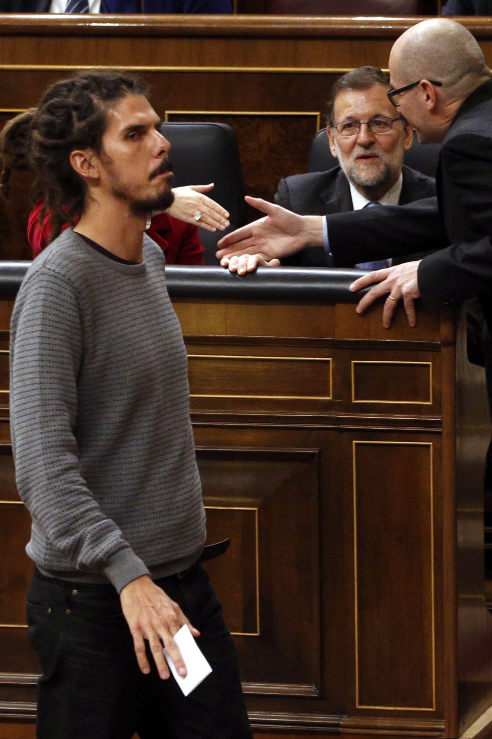 Mariano Rajoy und Alberto Rodríguez