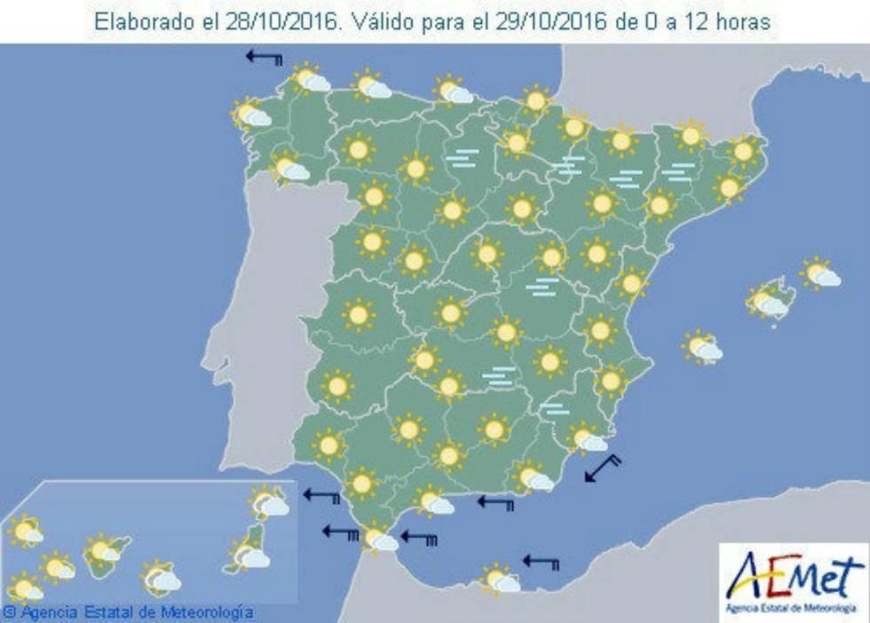 Sol Y Tiempo Estable Para El Puente De Todos Los Santos Espana