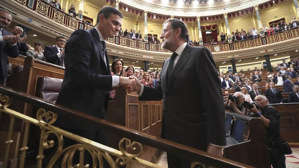 [EFE] 24 de Septiembre de 2017 - Sánchez, nuevo Presidente del Gobierno 1527837969_067262_1527861239_noticia_fotograma