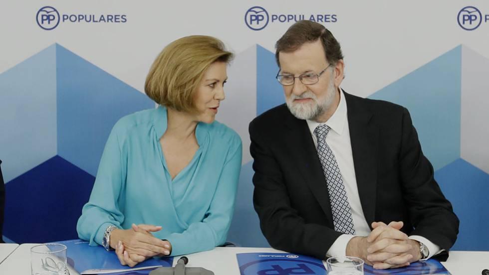 Cospedal No Se Descarta Para Suceder A Rajoy Es Una Decisión
