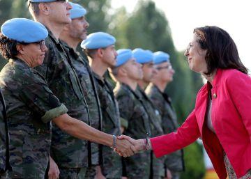 Robles reivindica en Líbano la contribución de España a la ONU
