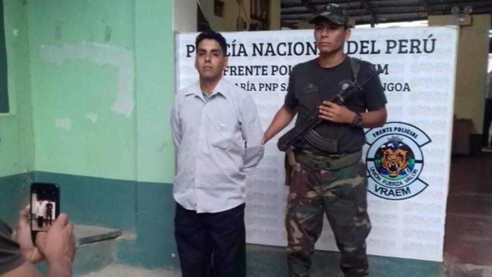 Félix Steven Manrique  El detenido por la captación de Patricia Aguilar b0ce65885a6b