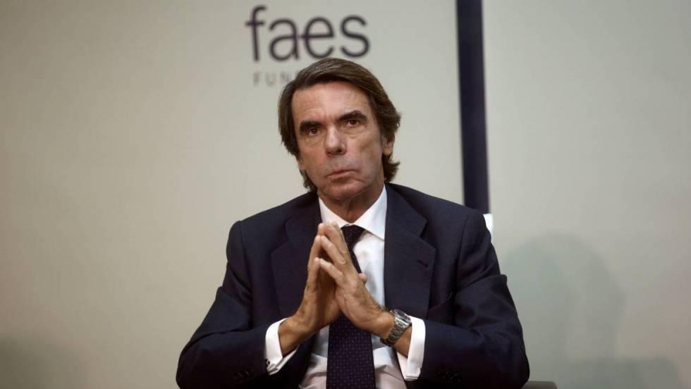 Aznar Sobre El Pacto Psoe Podemos Conducirá A Una Crisis Constitucional De Consecuencias Devastadoras España El País