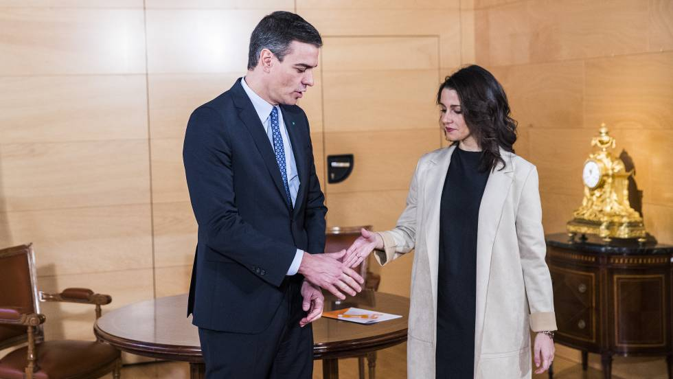"""Arrimadas: """"Si fracasa el Gobierno Frankenstein, Sánchez se verá ..."""