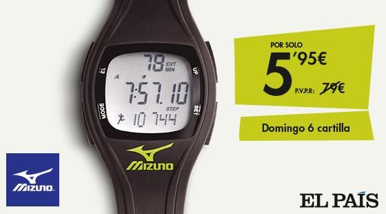 a817a92bf6b7 Reloj Mizuno: Promociones EL PAÍS