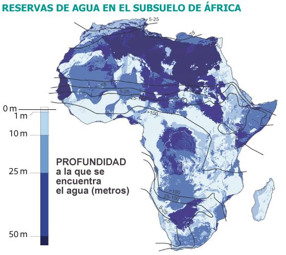 Un océano bajo las arenas de África | Sociedad | EL PAÍS