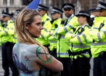 """La """"rebelión verde"""" decide poner fin a la campaña de sabotajes en Londres"""
