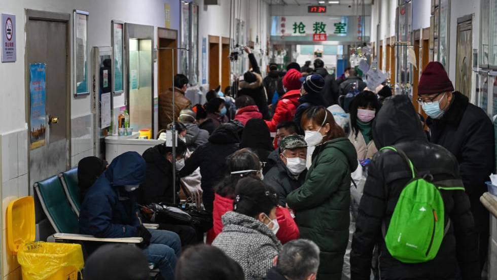 Resultado de imagen para colapso de hospitales en wuhan coronavirus