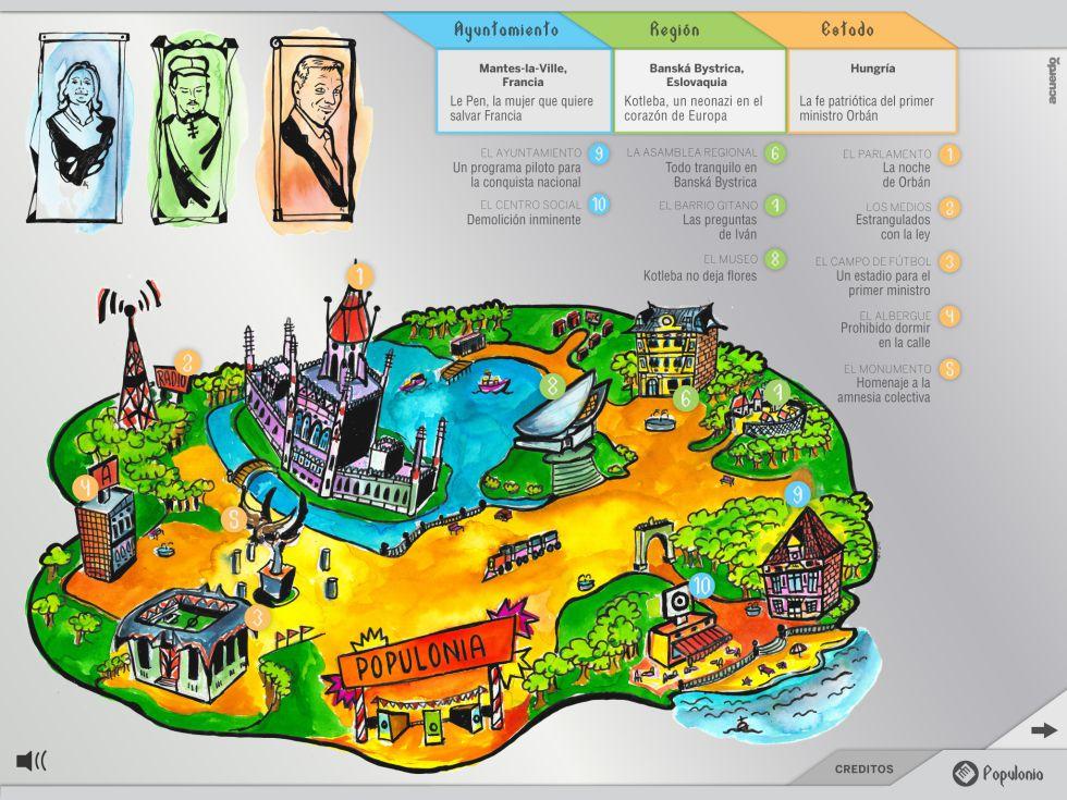 Populonia El Mapa Interactivo De La Ultraderecha Tecnologia