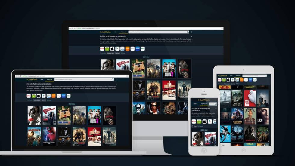 JustWatch: La app que te aclara cuándo ponen tu serie | Tecnología ...