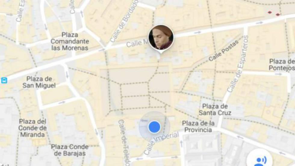 google maps aade la ubicacin en tiempo real la aplicacin te permite compartir temporalmente tu posicin con tus contactos