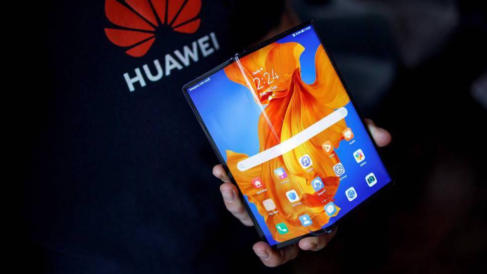Huawei Mate Xs: el nuevo móvil de pantalla plegable y bisagra ...